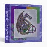Jeweled Peace Dragon Binder