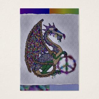 Jeweled Peace Dragon Business Card