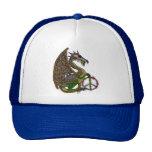 Jeweled Peace Dragon Mesh Hat