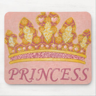 Jeweled Princess Crown by Chariklia Zaris Mouse Pad