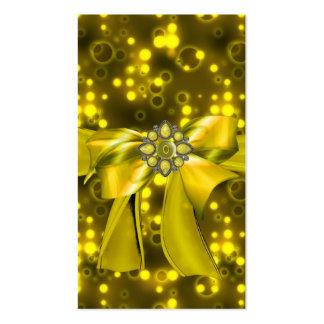 Jeweled & Rhinestone Faux business cards