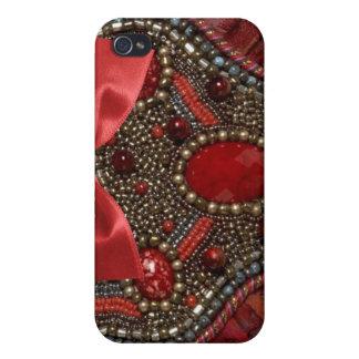 Jeweled & Rhinestone faux I Phone Case