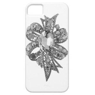 Jeweled & Rhinestone Faux IPhone 5 Case