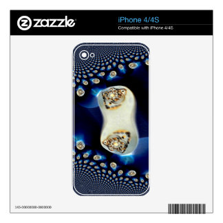 Jeweled Sapphire.jpg Decal For The iPhone 4S