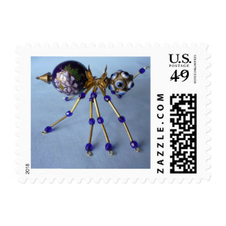 jeweled spider stamp