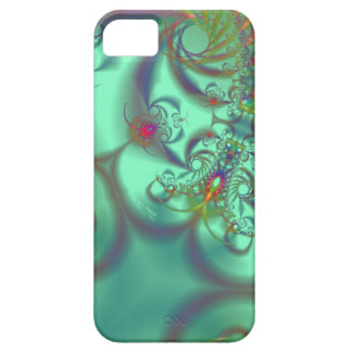 Jeweled Staircase - Abstract Emerald Kaleidoscope iPhone 5 Cases