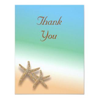 Jeweled Starfish Thank You Card