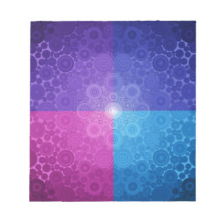 Jeweled Toned Circle Delight Note Pads