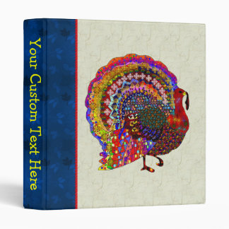 Jeweled Turkey Binder