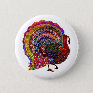 Jeweled Turkey Button