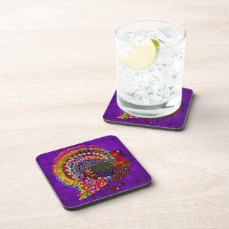 Jeweled Turkey Coasters