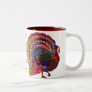 Jeweled Turkey Coffee Mugs