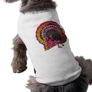 Jeweled Turkey Pet Tshirt