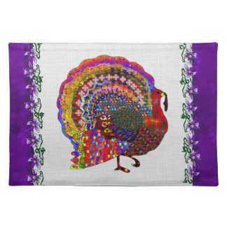 Jeweled Turkey Placemat