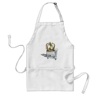 JeweledCrowedInShoppingCart070515.png Adult Apron