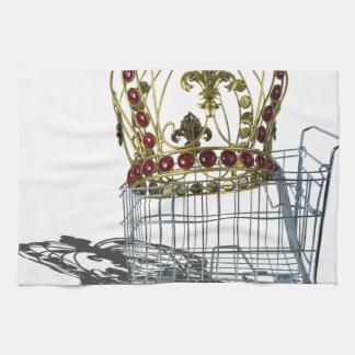 JeweledCrowedInShoppingCart070515.png Kitchen Towels