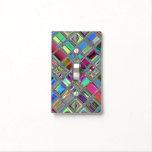 Jewelee Shiney Mosaic Art Light Switch Cover