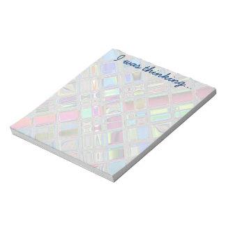 Jewelee Shiney Mosaic Art Memo Notepad