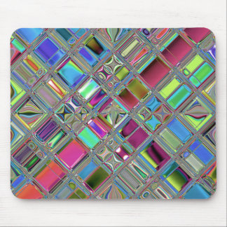 Jewelee Shiney Mosaic Art Mouse Pad