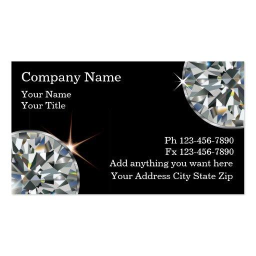 Lapidary Business Card Templates | BizCardStudio