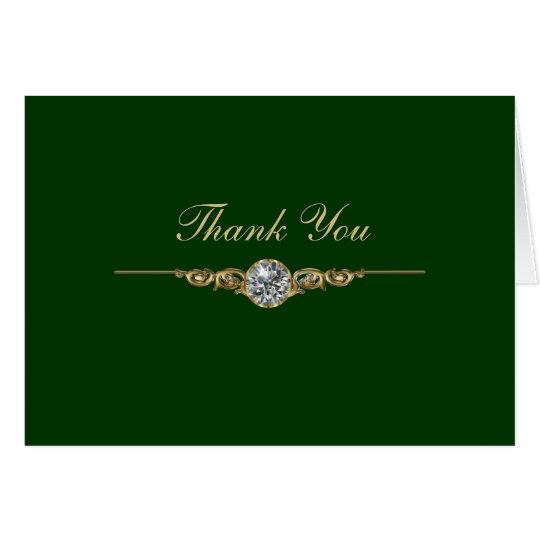 Jeweler Business Thank You Cards