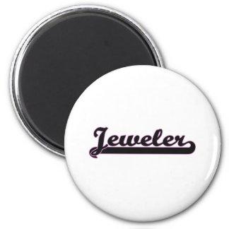 Jeweler Classic Job Design 2 Inch Round Magnet