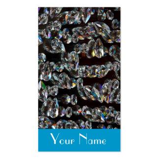 Jeweler Jewelry  Diamond Sparkle Business Card Template