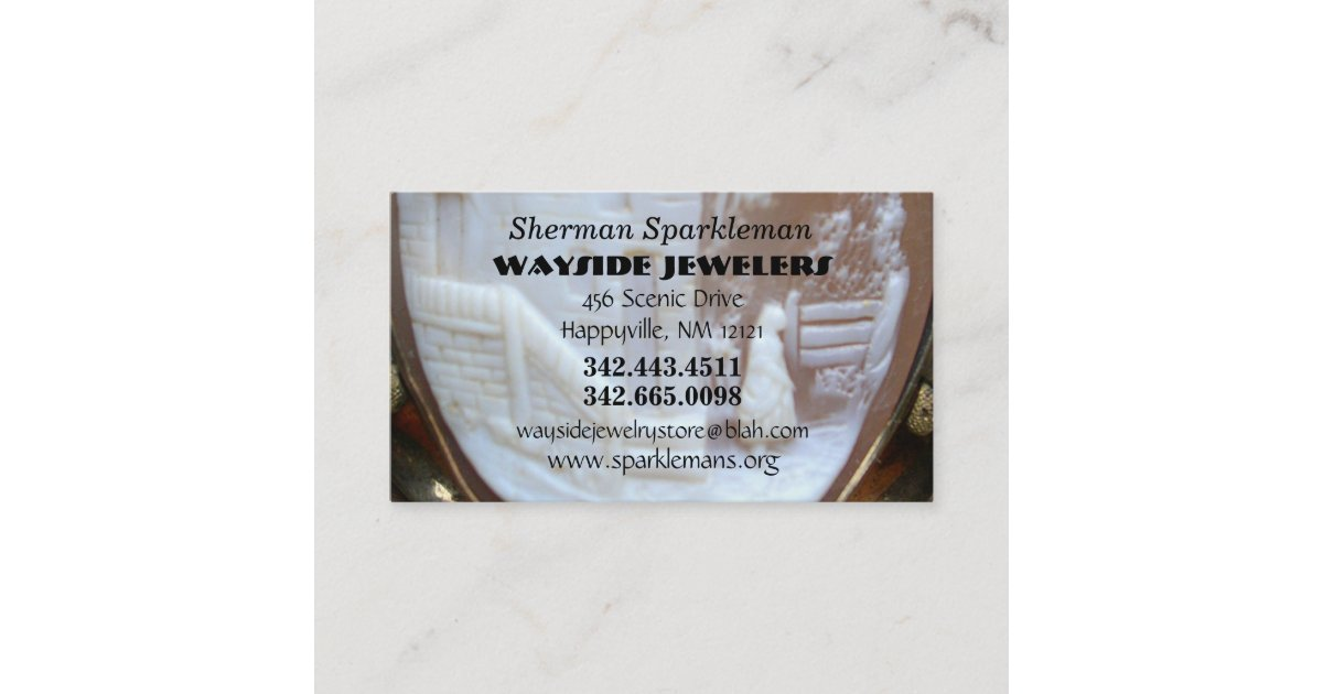 Jewelers Antique Collectors Business Card | Zazzle com
