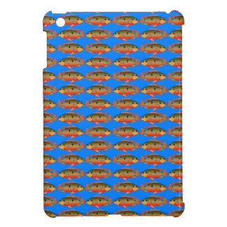 JewelfishPattern in sea blue iPad Mini Cases