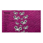 Jewell Butterflies Double-Sided Standard Business Cards (Pack Of 100)