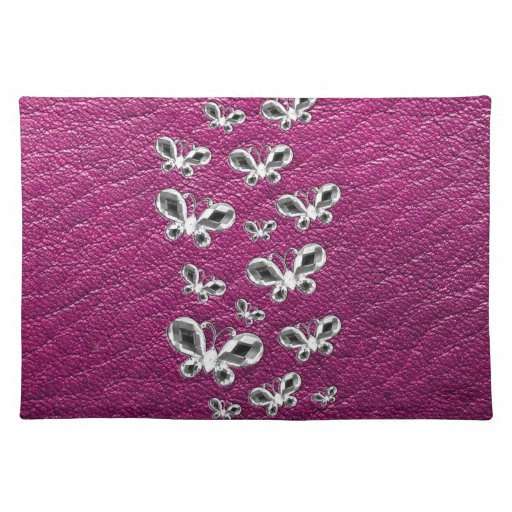 Jewell Butterflies Cloth Placemat