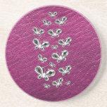 Jewell Butterflies Coaster
