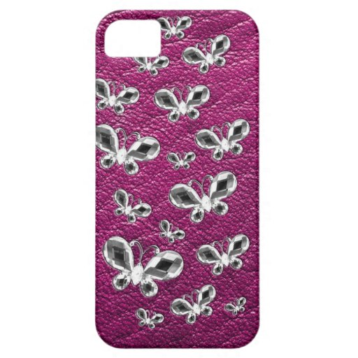Jewell Butterflies iPhone 5 Covers