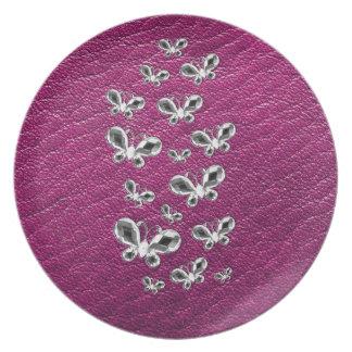 Jewell Butterflies Plate