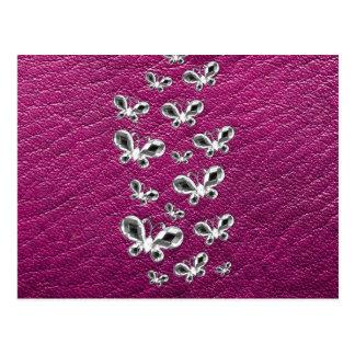 Jewell Butterflies Postcard