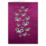 Jewell Butterflies Stationery Note Card