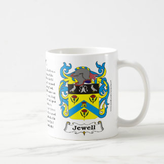 Jewell Family Coat of Arms Mug