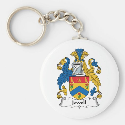 Jewell Family Crest Keychain