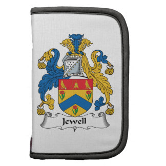 Jewell Family Crest Folio Planners