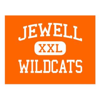 Jewell - Wildcats - Junior - Randall Kansas Postcard