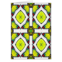 artsprojekt,ancient,architecture,jewelled,cross,stained,glass,powerful,reliquary,yellow,enigmatic,alchemy,design,transmutation,abstract,secret,occultism,esoteric,gothic,magical,whimsical,insight,pattern,power,goth,cool,templar,patricia,vidour,arte,illustration,modern,contemporary,inspirational,spiritual,tattoo,wisdom,consciousness,cult, Card with custom graphic design