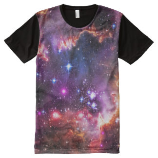 Jewelled dazzling starry space picture, smc All-Over print t-shirt