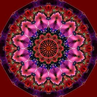 Jewelled Kaleidoscope 23 sticker