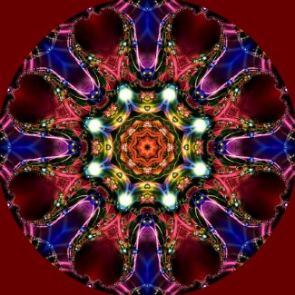Jewelled Kaleidoscope 36 sticker