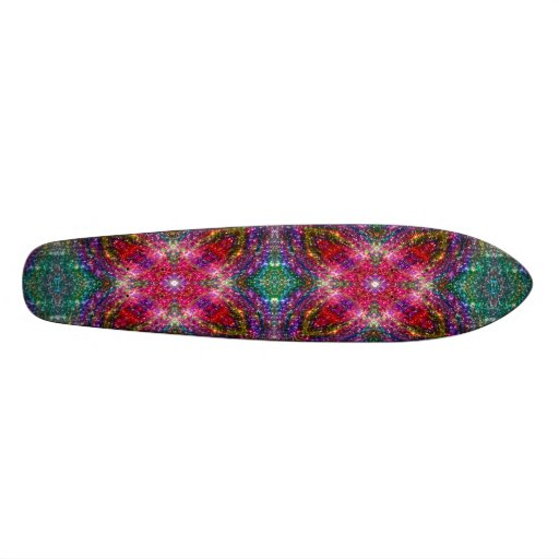 Jewelled Kaleidoscope Skateboards