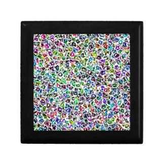 Jewelled mosaic keepsake box
