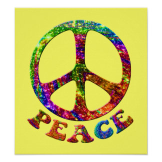 Jewelled Peace Posters