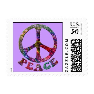 Jewelled Peace Stamps
