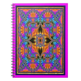 Jewelled Rainbow Spiral Notebook
