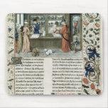 Jeweller's Shop, from Lapidaire de Mandeville Mouse Pads